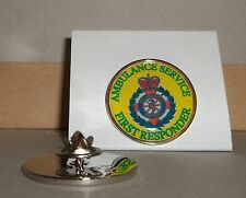 Ambulance Service First Responder Lapel pin badge