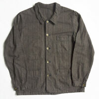 SUGAR CANE X MISTER FREEDOM Stripe Coverall Jacket SC13853 Size 38 Used