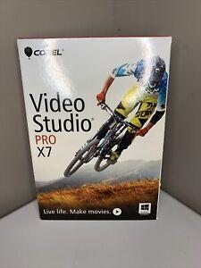 Brand New Corel Video Studio Pro X7 Video Editing PC SEALED