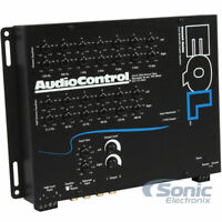 AudioControl EQL 2-Channel 13-Band Octave Equalizer Level Matching Controls
