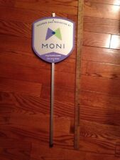 Moni Security Yard Sign With Aluminum Stake (Used)