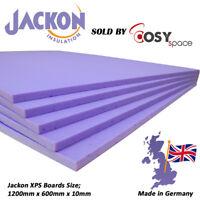Jackon Electric Underfloor Heating Insulation Boards 10mm XPS Floor Thermal