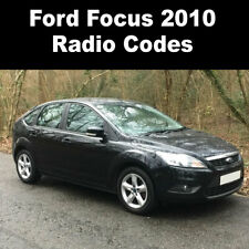 Ford Focus 2010 Radio Code Stereo Reset Codes PIN Car Service UK