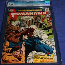 TOMAHAWK #84 CGC 7.0 2ND MISS LIBERTY! AND 1ST SOLO STORY. 1/63! ONLY 1 BETTER!