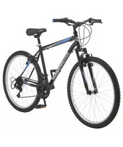 Roadmaster Granite Peak Men's Mountain Bike, 26-inch wheels black/Blue New