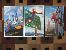 """Spider-Man - Homecoming (11"""" x 17"""") Movie Poster Prints ( Set of 3 )"""
