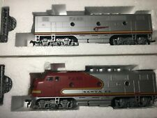Stewart / Kato HO Santa Fe F3 A/B Diesel Pass Locomotive Set  Phase 1 - 8050-51