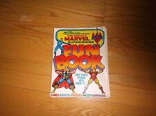 1976 Stan Lee Presents Marvel Superheroes Fun Activity Book Used & Falling Apart