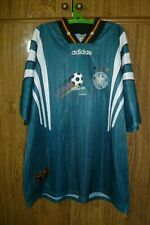 Germany Adidas Vintage Football Shirt Away 1996/1997/1998 Soccer Size 2XL XXL