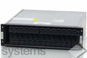 Netapp DS14MK4 14-Slot Expansion Disk Shelf 2x ESH4 / 2x PSU / 14x HDD Tray