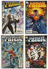 INFINITE CRISIS 1 2 4 COMIC BOOK LOT! BATMAN SUPERMAN WONDER WOMAN BIG AUCTION
