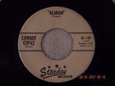 Cowboy Copas: Alabam / I Can 45 Rpm / Starday 501