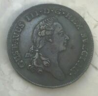 1784 Sweden 1/3 Riksdaler - Amazing Eye Appeal
