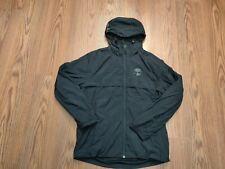 NWT Men's TIMBERLAND windbreaker jacket size large TB0A1TEQ 50% msrp black