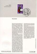 FDC / PREMIER JOUR / HEROS FRANCAIS DU ROMAN POLICIER / ROCAMBOLE PARIS 1996