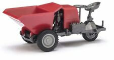 BUSCH 210006601 Mehlhose H0 1:87 Dumper Picco 1 Lime triangulaire, Rouge