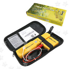 For Rj11 Cable Tester Telephone Wire/Lan Tone Generator Probe Tracker Tracer