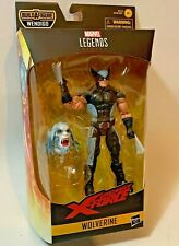 Marvel Legends X-Men Wolverine X-Force Suit 6in Figure Baf Wendigo In Stock