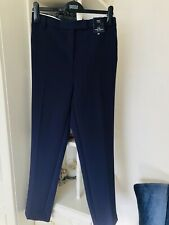 Marks And Spencers Purple Ankle Grazer Trousers New Size 22