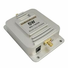 5W WiFi 37dBm Wireless Broadband Amplifier 2.4GHz Router Signal Booster