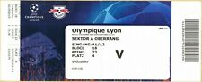 Used Sammler Ticket RB Leipzig - Olympique Lyon UEFA Champions League 2019/20