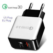 Carga rápida 3.0 USB 5V 3A Teléfono Adaptador de cargador de pared Home viaje rápido Encanto Nuevo