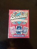 1991 Baseball Playing Cards Major League All Stars MLB