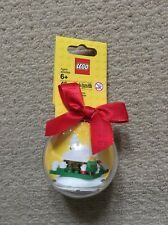 Lego Christmas Snow Hut Holiday Bauble NEW