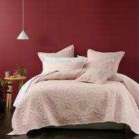 Bianca Krystal Coverlet Set Blush in All Sizes