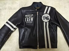 EXCELLENT COND USED ONCE VANSON SINGLE LEATHER MOTORCYCLE JACKET MEN 36 USA MADE
