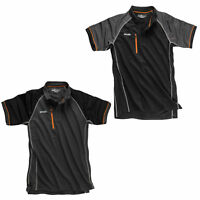 Scruffs Trade Active Polo Shirt Black or Grey (Sizes S-XXL) Men's Work T-Shirt