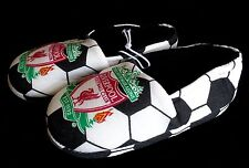 NEW Toddler 11-12 Slippers LIVERPOOL FOOTBALL CLUB Soccer Ball Design UK 10-11