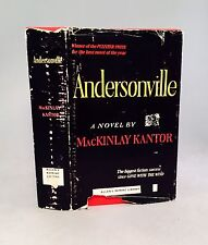 Andersonville-MacKinlay Kantor-TRUE First U.K. Edition/1st Printing!!-1956-RARE