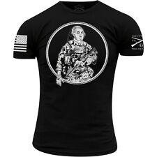 Grunt estilo táctico Washington Camiseta-Negro