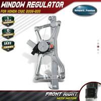 Window regulator W//Motor for 96-07 Ford Taurus Mercury Sable Front Right 741-755