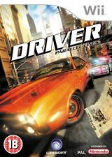 Driver Parallel Lines Nintendo Wii Game