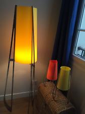 3 lampes fusées Vintage avec leurs abats-jour