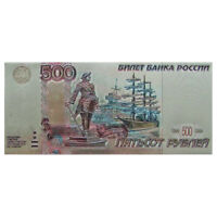 500 Rubles Russian Money Fridge Magnet. 2x4""
