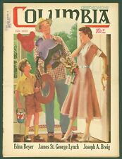 Vintage Knights of Columbus Columbia Magazine July 1950 Carnival Prize  Cover