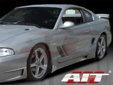 AIT Racing Stallion FRP Side Skirts Fits Mustang 94-98 FM94HISTASS