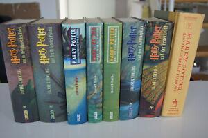 Harry Potter Bücher Sammlung 8 Bände Deutsch 1x Englisch