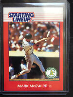 1988 MARK MCGWIRE Oakland A's MLB Kenner Starting Lineup