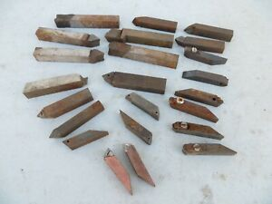 AMMCO BRAKE LATHE LOT OF BIT HOLDERS / CUTTERS USED
