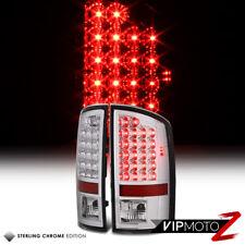 2007-2008 DODGE RAM 1500 | 2007-2009 DODGE RAM 2500 | 3500 CHROME LED TAIL LAMPS