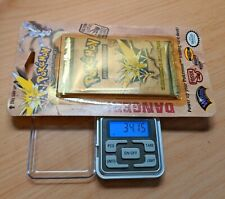 Pokemon Fossil Blister Booster Original Weighed Heavy! Zapdos Art  RARE