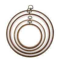 Plastic Frame Embroidery Hoop Ring Circle Round Loop Tool for Craft Cross Stitch