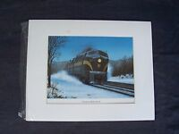 Mike Danneman signed numbered railroad art print Pennsylvania Sharks on the Roll