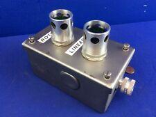 ALLEN BRADLEY 800T-QA24 & 800T-QA10 Switches W/ HOFFMAN ENCLOSURE 5.75x3.25x2.75