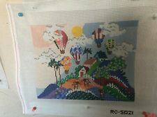 needlepoint canvas Rc Full Or Balloons