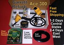 Garrett Metal Detector Ace 300 Refurb Bonus Items Fast Free Shipping